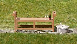Garden Benches Backless Lutyens Bench