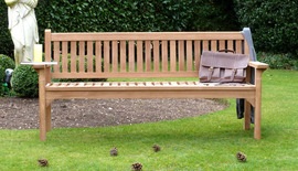 Garden Benches Westminster Bench Front 180