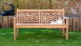 Garden Benches Oxford Garden Bench 150 Front