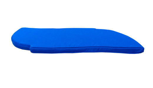 Electric-blue-snake-bench-front