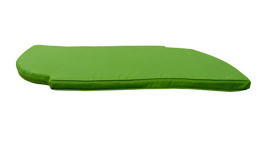 Forest-green-banana-snake-bench-front