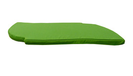 Banana Snake Bench Cushion Green Front