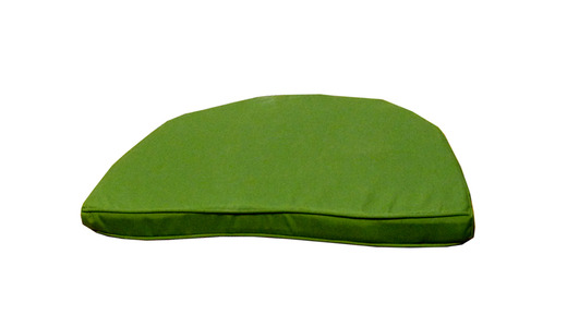 Forest-green-banana-chair-front