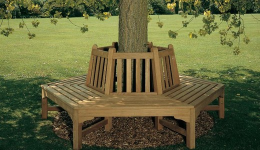 Hexagonal_tree_bench