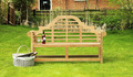 Garden Benches Lutyens Teak Garden Bench