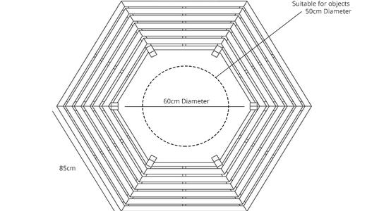 Hexagonal-tree-bench-outside