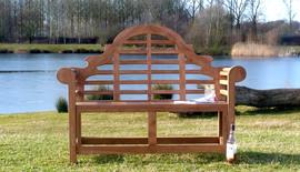 Lutyens Teak Garden Bench 120 Cm
