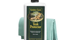 Golden Care Garden Bench Invisible Teakshield