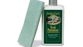 Golden Care Garden Bench Teak Patinizer