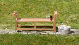 Garden Benches Backless Lutyens Bench