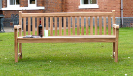 Garden Benches Windsor Front 180
