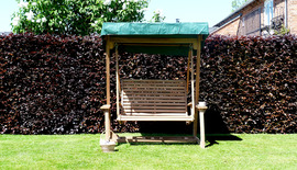 Garden Benches Turnberry Swing Seat Front Shot