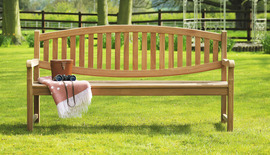 Garden Benches Winchester Double Oval Back