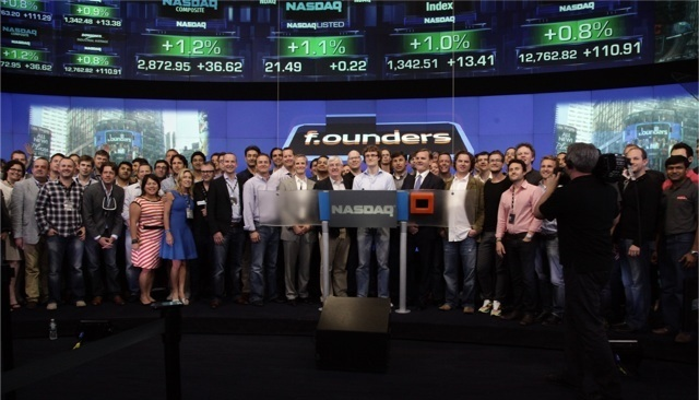 founders nasdaq 1 Gary Sharma's Highlights from F.ounders NY 2012, the Michael Jordan of Tech Events