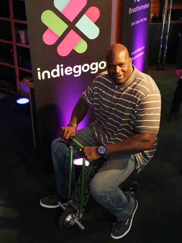 sxsw2014 shaq indiegogo Gary Sharmas Highlights From SXSW 2014   Assange, Grumpy Cat, Wrecking Ball, 3D Oreos & more!