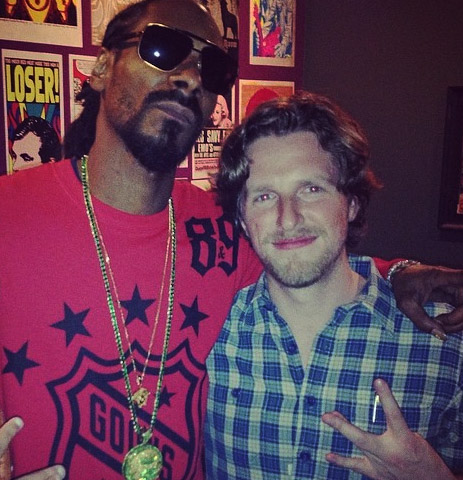 sxsw2014 snoopdogg mattmullenweg Gary Sharmas Highlights From SXSW 2014   Assange, Grumpy Cat, Wrecking Ball, 3D Oreos & more!