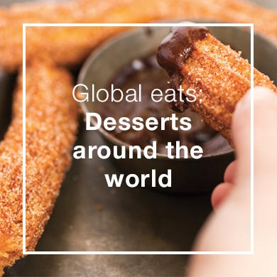 global desserts