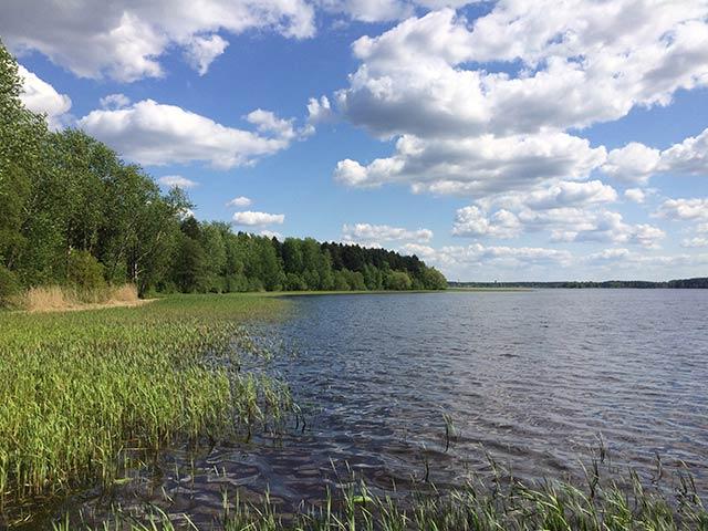 Lake Jugla in Latvia