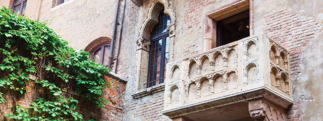 Find love by visiting Juliet's balcony in Verona