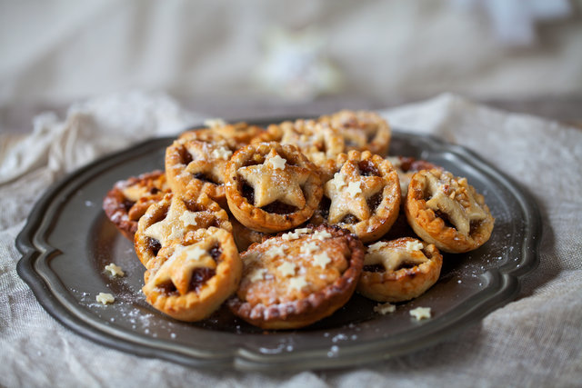 Recipe for holiday mince pies