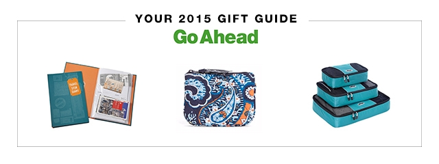 Go Ahead travel gift guide