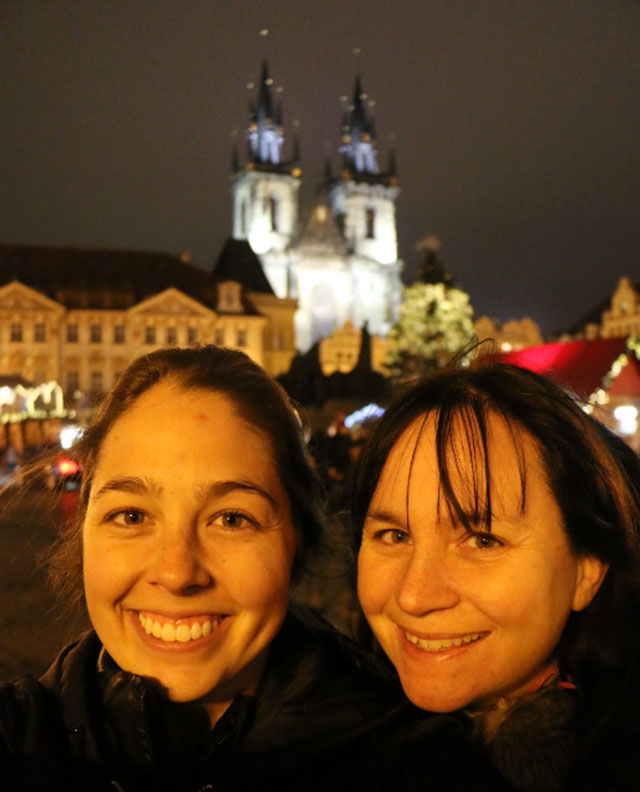Wendy and Allison on the Christmas Markets of Eastern Europe