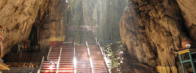 Explore the Batu Caves in Malaysia