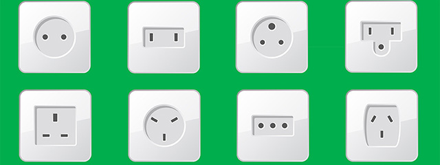 Know the difference between power adapters and converters