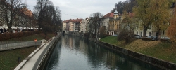 A day on tour in Ljubljana, Slovenia