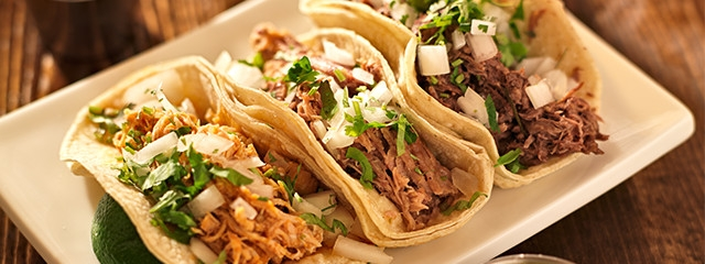 Taste barbacoa and carnitas tacos in Mexico