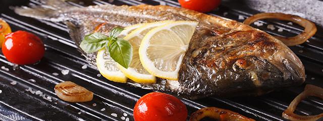 Order fish at Playa del Carmen