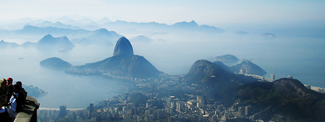Take a cable car to Sugarloaf Mountain in Rio de Janeiro, Brazil