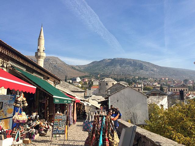 Explore the bazaar in Mostar