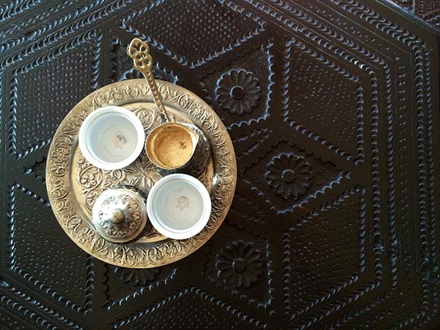 Sip Turkish coffee in Mostar