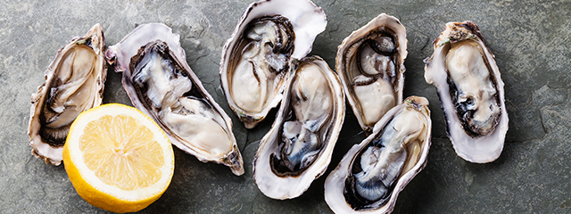 Enjoy oysters in the coastal U.S.