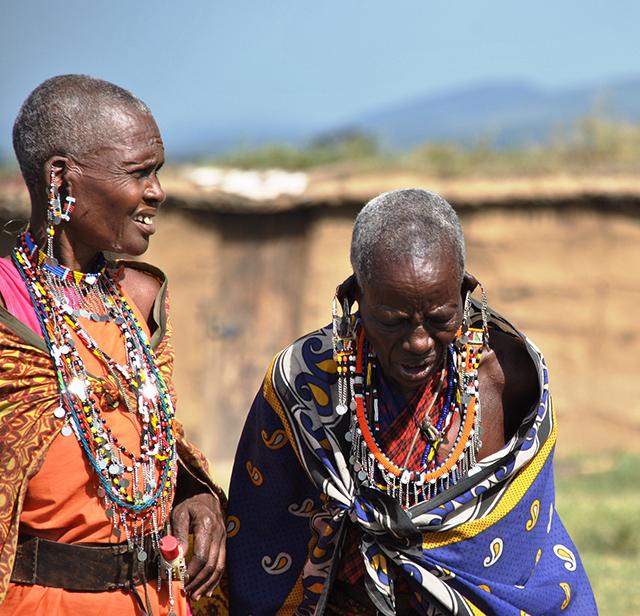 Visit with the Masai Mara in Kenya