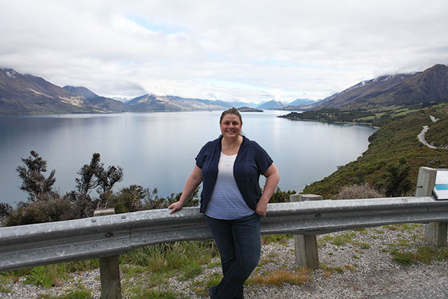 Lynne in Queenstown, New Zealand