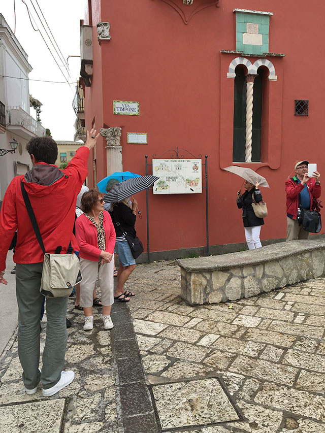 Guided sightseeing in Capri, Italy