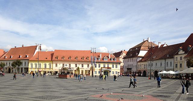 Piata Mare in Sibiu