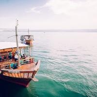 Cruising on Lake Tiberias (Sea of Galilee)