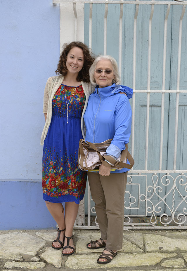 Traveler Amy and her aunt visit Cuba on a Go Ahead Tour