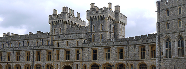 Windsor Castle in London, England