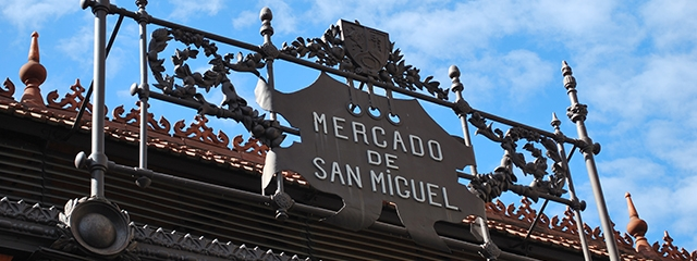 The Market of San Miguel in Madrid, Spain