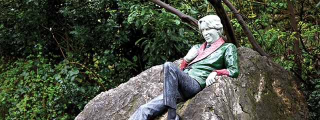 oscar wilde dublin merrion sqaure