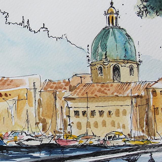 venice watercolor_640x640