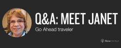 Q&A: Meet Janet, Go Ahead's next live blogger