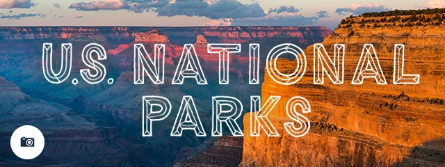 Jimmy in U.S. National Parks