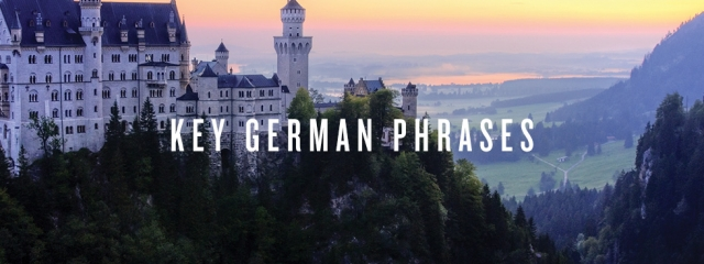 Key German language phrases