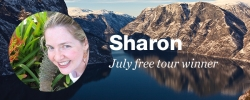 Congrats to our July free tour winner