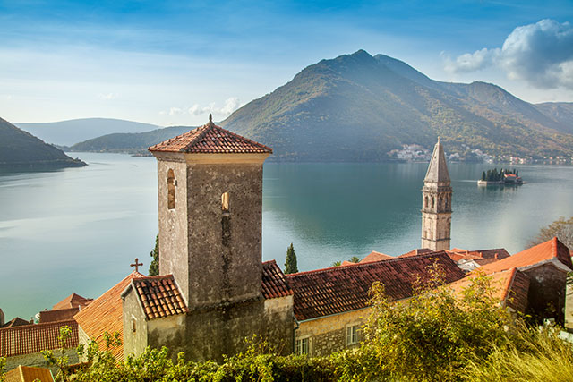 Montenegro in the Balkans area of Europe